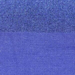 Подвяз трикотажный синий с люрексом