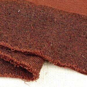 Подвяз трикотажный коричневый с люрексом