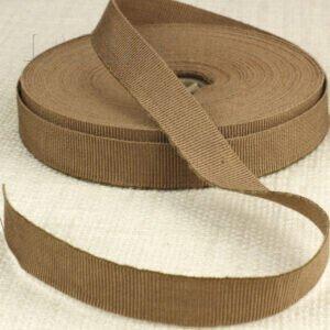 Репсовая лента терракотовая шир. 1,6 см