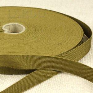 Репсовая лента цвета хаки шир. 1,5 см