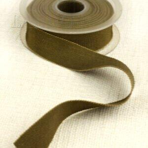 Репсовая лента цвета хаки шир. 2,4 см