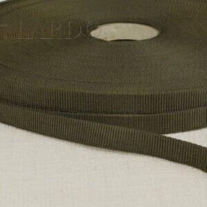 Репсовая лента тёмный хаки шир. 1,2 см