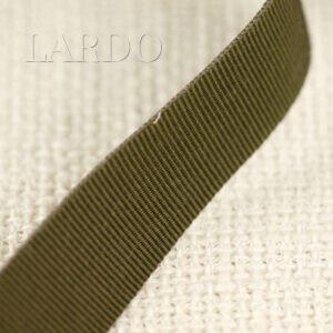 Репсовая лента тёмный хаки шир. 1,5 см