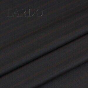 Шерсть костюмная VERGINE тёмно-серая в коричневую полоску