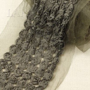 Кружево сиреневого цвета, шир. 13,5 см