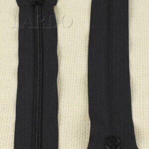 Молния MeRaS неразъёмная, однозамковая, 18 см, №5, чёрная