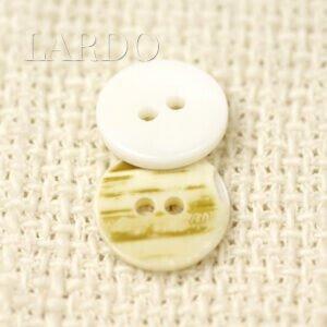 Пуговица перламутр ∅ 1,3 см молочного цвета