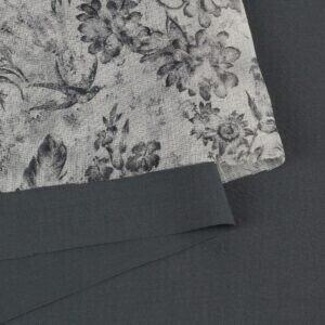 105 Марлёвка вискоза - шерсть костюмная серая