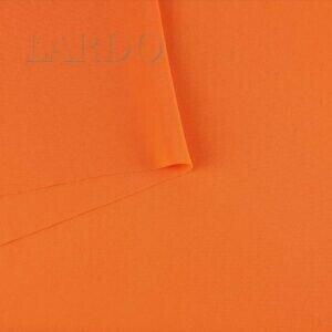 Кади стретч плательная оранжевая