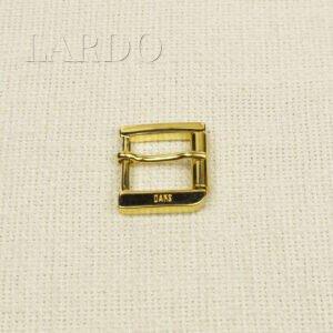 Пряжка DAKS металл цвета золота 2,7 см x 3,2 см