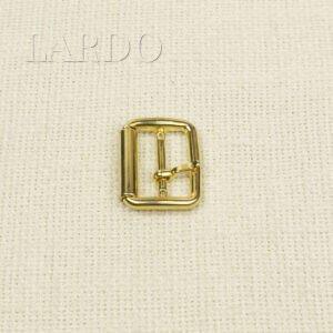 Пряжка металл цвета золота 2,5 см x 3,3 см
