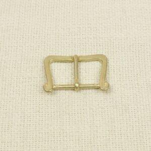 Пряжка металл цвета состаренного золота 3,5 см x 4,5