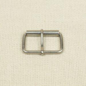 Пряжка металл цвет никеля 3,2 см x 5,0 см