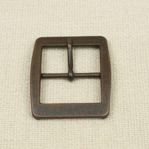 Пряжка металл цвета оксида 6,5 см x 5,5 см