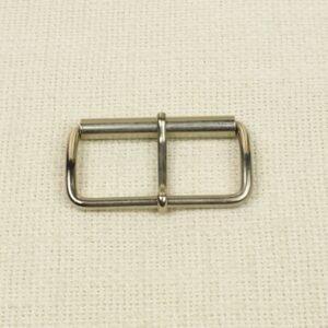 Пряжка металл цвета никеля 3,3 см x 5,7 см