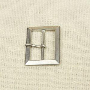 Пряжка металл цвета никеля 4,0 см x 5,0 см