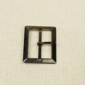 Пряжка металл цвета тёмного никеля 4,0 см x 5,0 см