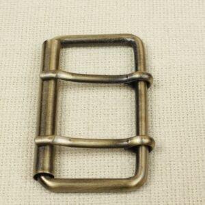 Пряжка металл цвета оксида 5,5 см x 9,0 см