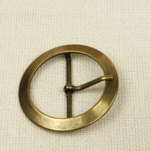 Пряжка металл цвет оксида ∅ 6,7 см
