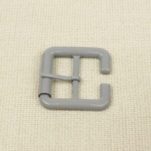 Пряжка металл серого цвета 4,7 см x 5,0 см