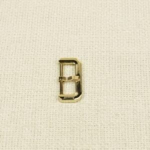 Пряжка Brioni металл цвета золота 1,5 см x 3,5 см