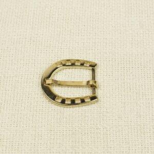 Пряжка металл цвета золота 3,8 см x 3,8 см