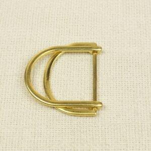 Пряжка металл цвета золота 5 см x 6 см