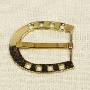 Пряжка AIGNER металл цвета золота 7,5 см x 7,0 см