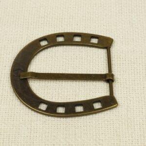 Пряжка AIGNER металл цвета оксида 7,5 см x 7,0 см