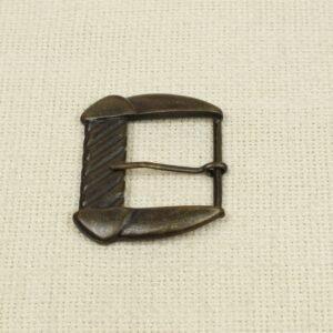 Пряжка металл цвета оксида 4,5 см x 5,5 см