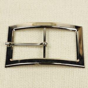 Пряжка металл цвета никель 9,0 см x 6,0 см