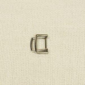 Пряжка металл цвета никель 2,0 см x 2,7 см