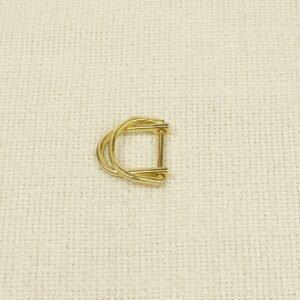 Пряжка металл цвета золота 2,5 см x 2,7 см