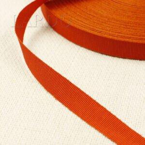 Репсовая лента оранжевая шир. 1,5 см