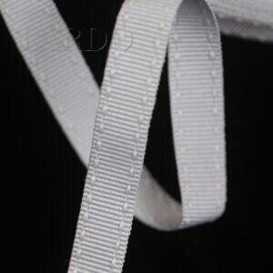 Репсовая лента светло-серая шир. 1,0 см