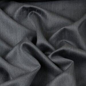 Шерсть с кашемиром костюмная меланж серо-голубая ALTA MODA Италия Состав: шерсть 90 %, кашемир 10 % Плотность ≈ 215 г/м ² Ширина 150 см