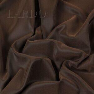 Подкладочная ткань стретч шанжан чёрно-коричневый