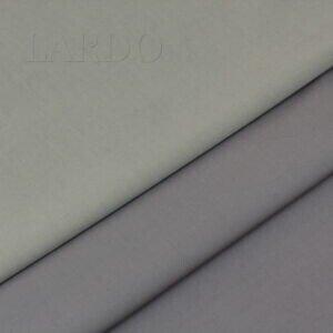 Сатин стретч двухсторонний хлопковый серый
