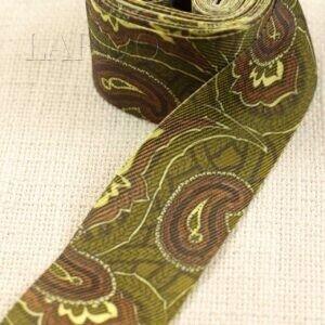 Тесьма декоративная разноцветная шир. 4,1 см