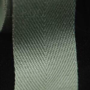 Киперная лента хлопок цвета хаки шир. 3,5 см