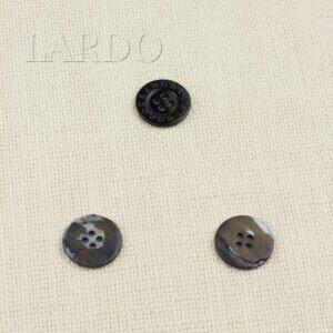 Пуговица LES COPAINS перламутр ∅ 2,2 см, чёрная