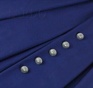 114 Сатин стретч королевский синий