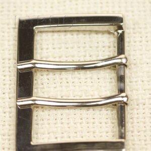 Пряжка металл цвета никель 3,3 см x 4,8 см