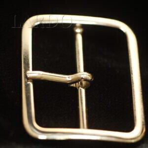 Пряжка металл цвета никель 3,0 см x 4,0 см
