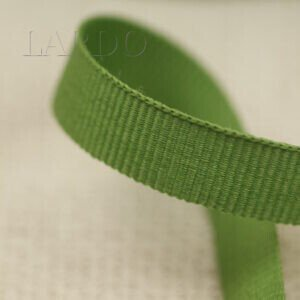 Репсовая лента зелёная шир. 1,0 см