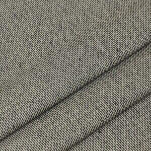 Лён стретч костюмно-плательный чёрно-белый Италия Состав: лён 95 %, эластан 5 % Плотность ≈ 225 г/м ² Ширина 142 см