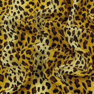 Крепдешин шёлковый леопард Состав: шёлк 100 % Плотность ≈ 80 г/м ² Ширина 138 см