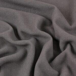 Пальтовая шерсть Extra Virgin серого (мышиного) цвета  Италия  Состав: шерсть 80 %, п/э 20 %  Плотность ≈ 345 г/м ²  Ширина 148 см