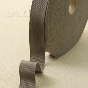 Репсовая лента вискоза хлопок бежевого цвета шир. 2,8 см