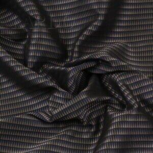 Жаккард шёлковый бронзово-синий Италия Состав: шёлк 100 % Плотность ≈ 160 г/м ² Ширина 142 см
